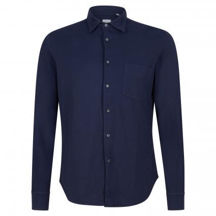 Regular-Fit Hemd aus Baumwolle marine (85095) | XL