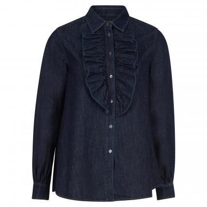 Bluse 'Ricerca' in Jeans-Optik marine (007 nachtblau) | 34