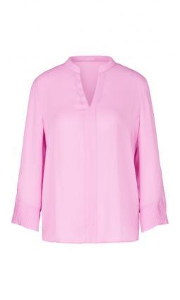 Bluse mit V-Ausschnitt pink (257 prism pink)   36
