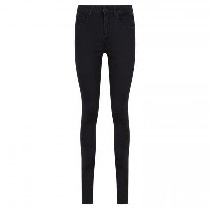 Highwaist Skinny Jeans 'Regent' schwarz (100Z noir powerflex) | 26 | 32
