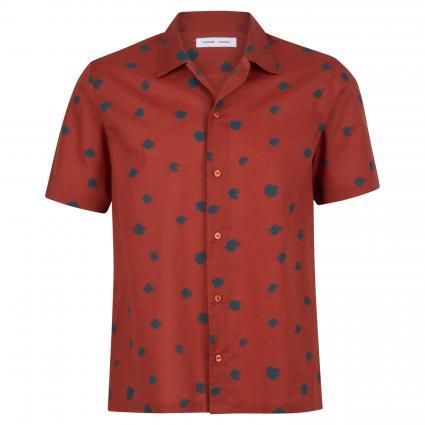 Hemd mit Musterung rot (the dot)   S
