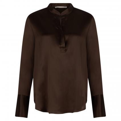 Bluse aus Seide braun (711 chocolate)   38