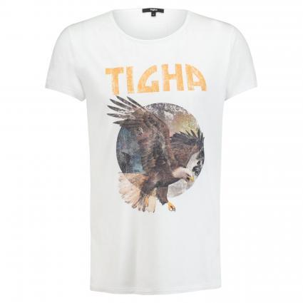 T-Shirt aus Baumwolle weiss (001 white) | XL