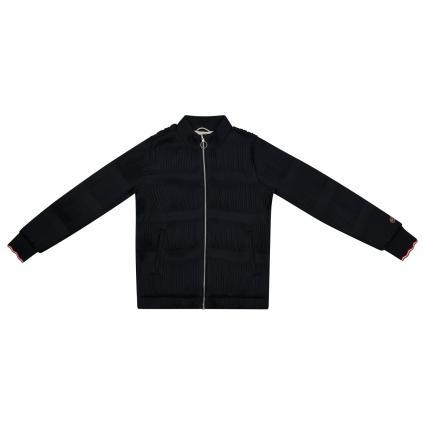 Jacke mit Falten Muster  marine (0093) | 176