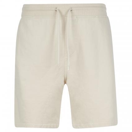 Sweatshorts mit elastischem Bund ecru (ivory white) | S