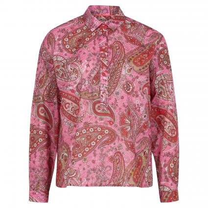 Bluse mit Paisley-Muster pink (492 pink paisley) | 42