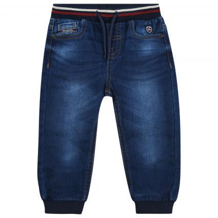 Jeans Hose mit Tunnelzug  blau (096 Dark) | 68