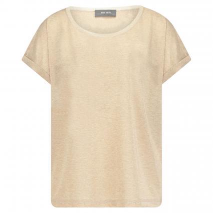 Oversize-Shirt 'Kay' mit Glitzerdetails gold (912 GOLD) | L