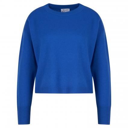 Pullover aus Cashmere blau (354 royal) | L