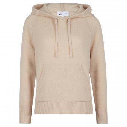 Cashmere-Pullover mit Kapuze beige (930 sand) | XXL
