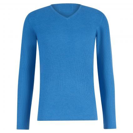 Pullover mit Strukturmuster blau (BCC(8)8173 Royal) | S