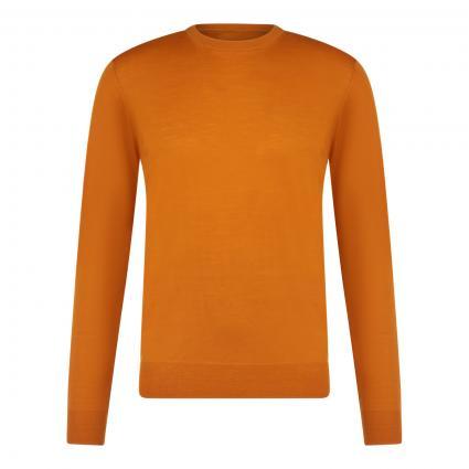 Leichter Pullover mit Rundhalsausschnitt orange (1E 5354 Pumpkin) | XXL
