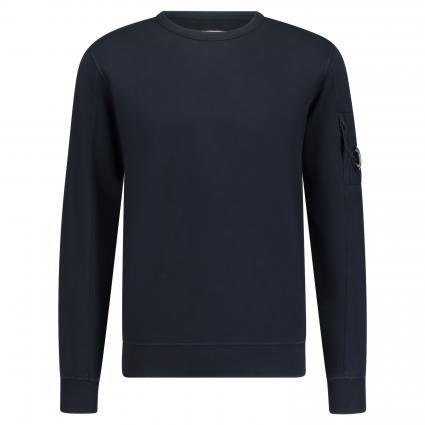 Sweatshirt mit breiten Bündchen marine (888) | XL