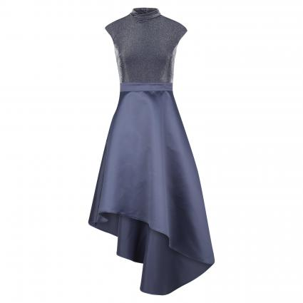 Abendkleid mit Glitzeroberteil marine (342 midnight navy) | 38