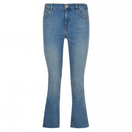 Slim-Fit Jeans  blau (401 BLUE, CROPPED) | 31