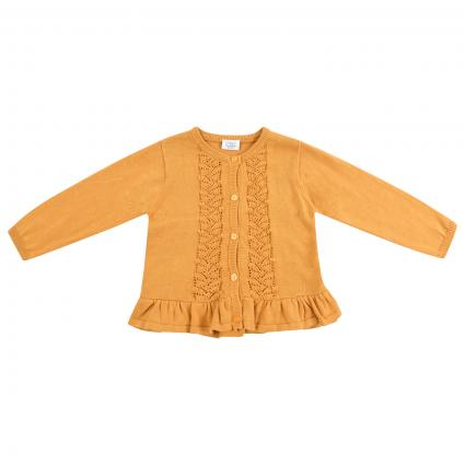 Strickjacke mit Musterung  gelb (3638 Canary)   86