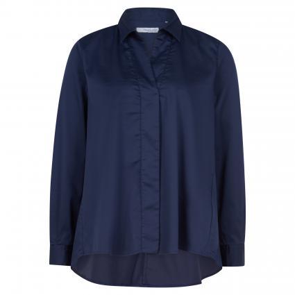 Bluse aus Baumwolle marine (5 marine) | 38
