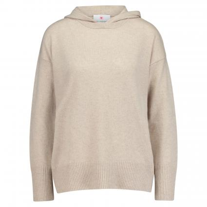 Pullover mit Kapuze beige (206 desert) | 42