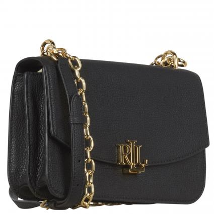 Crossbody Bag 'Madison' aus Leder schwarz (BLACK) | 0