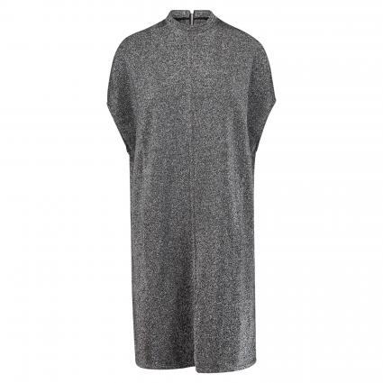 Kleid in Glitzer-Optik schwarz (090) | S