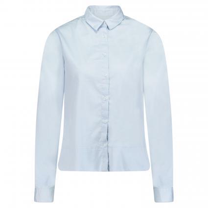Bluse mit langen Ärmeln blau (22 bleu) | 44