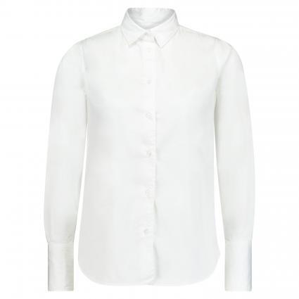 Bluse mit langen Ärmeln weiss (0 weiß) | 44