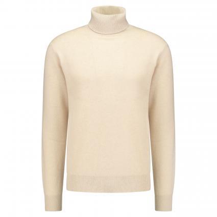 Pullover mit Rollkragen ecru (026 creme) | L