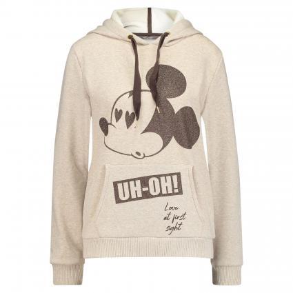 Hoodie mit Mickey Mouse Print grau (1188 grau mel.)   XS