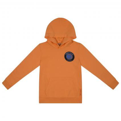 Sweatshirt mit Label-Druck  orange (3822 ORANGE) | 176