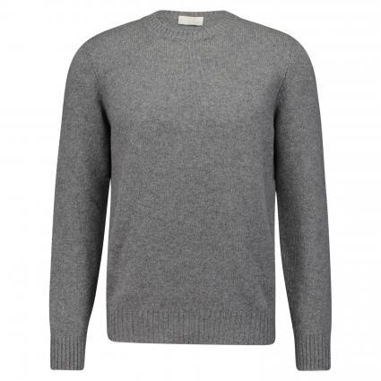 Strickpullover aus Schurwolle grau (080 Grey)   56