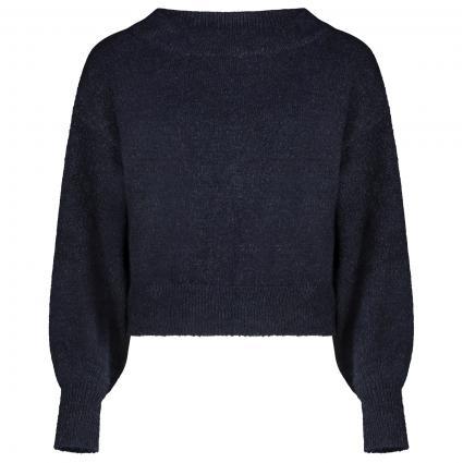 Pullover mit Schleifen-Detail  marine (NAVY BLUE) | XS/S