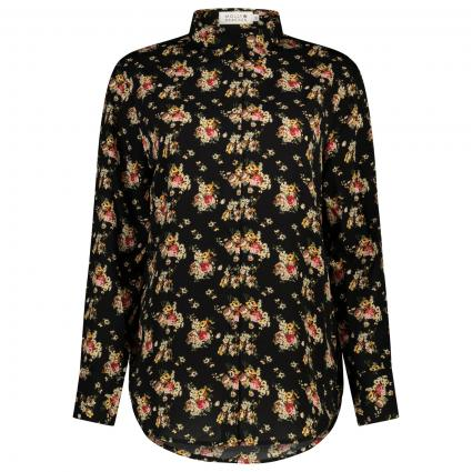 Bluse mit floralem All-Over Muster  rose (ENGLISH ROSES) | XS