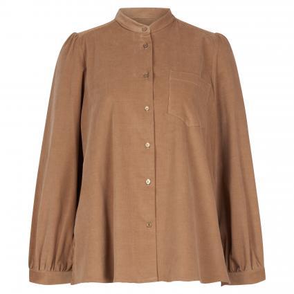 Bluse in Cord-Optik camel (007 camel) | 34
