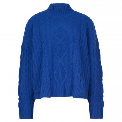 Strickpullover 'Saggio' blau (013 royal) | M