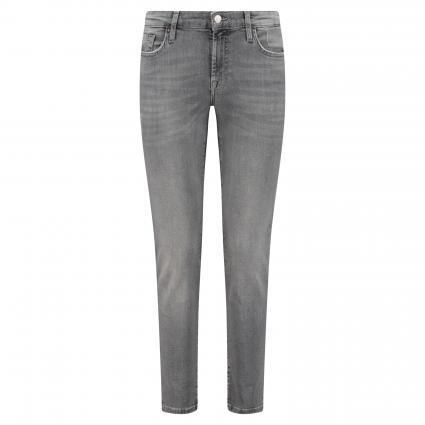 Slim-Fit Jeans im 5-Pocket Style grau (GREY)   27