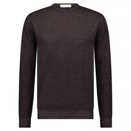 Pullover aus Merinowolle braun (048) | 50