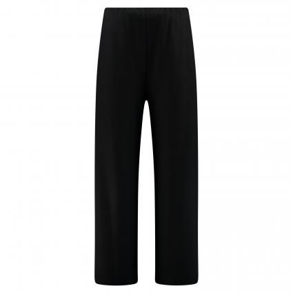 Weite Hose mit elastischem Bund schwarz (black 199)   38