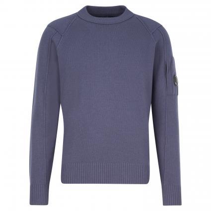 Pullover mit Rundhalsausschnitt blau (884)   48