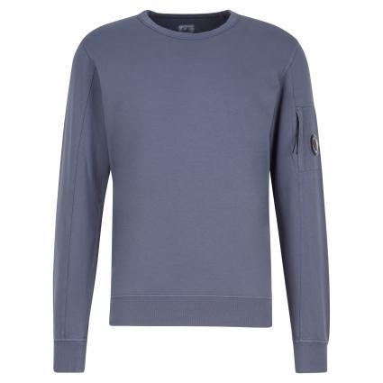 Sweatshirt mit breiten Bündchen grau (884)   L