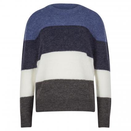 Pullover mit Rundhalsausschnitt divers (GRAY BLUE STP) | XS/S