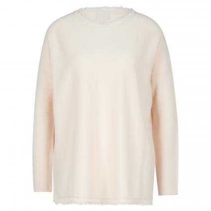 Pullover aus Cashmere ecru (creme) | L/XL