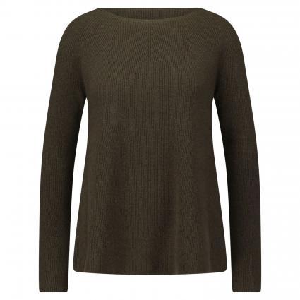 Pullover aus Cashmere oliv (oliv) | S