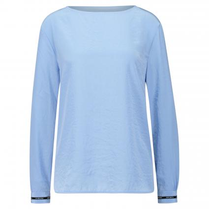 Bluse mit U-Boot Ausschnitt blau (329 gouache) | 44