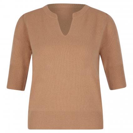 Pullover mit V-Ausschnitt camel (1301 camel ) | 38