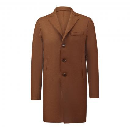 Mantel aus Wolle beige (450) | 54
