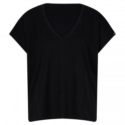 T-Shirt mit V-Ausschnitt divers (098) | XS