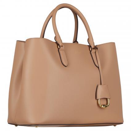 Handtasche 'Marcy' aus Leder taupe (NUDE/VANILLA)   0