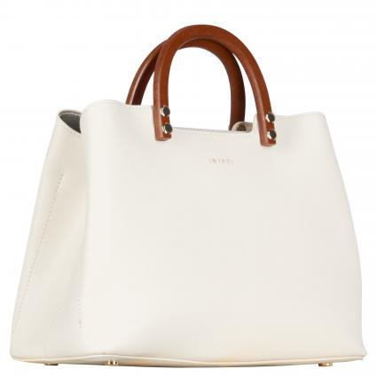 Handtasche 'Inita' weiss (COCONUT MILK) | 0