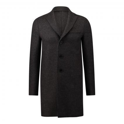 Mantel aus Wolle braun (443) | 50