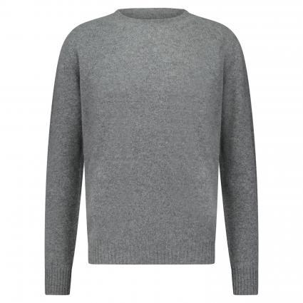 Pullover aus Wolle grau (22 Grey) | M
